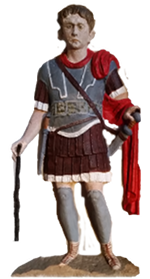 Marcus Favonius Facilis a Centurion serving in the Twentieth Legion