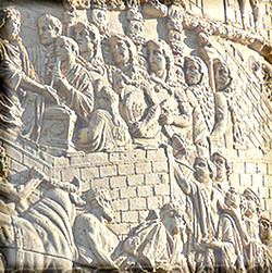 Soldiers from Trajan's column