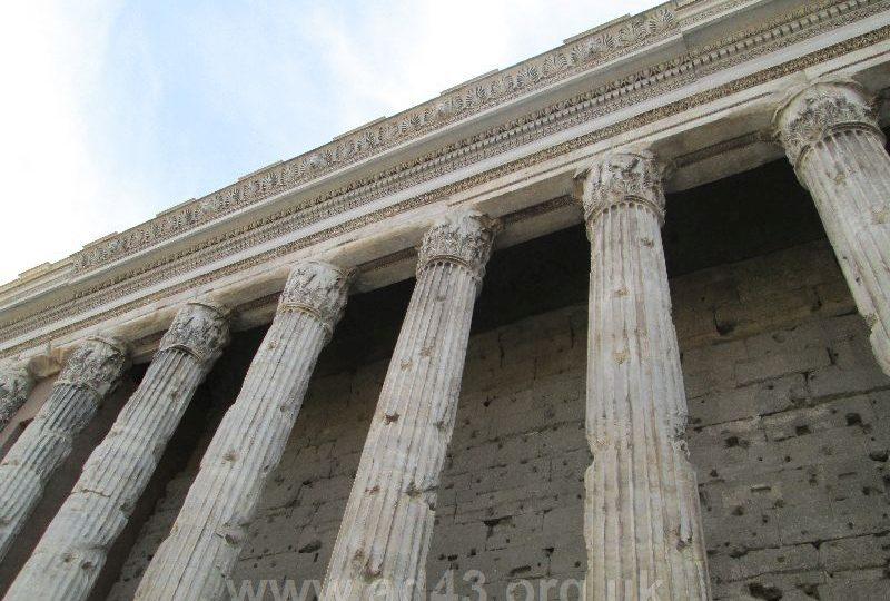 Pantheon columns, Rome