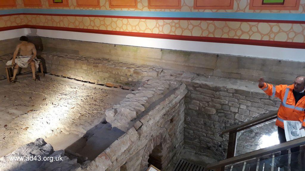 Bath House, Binchester Roman Fort