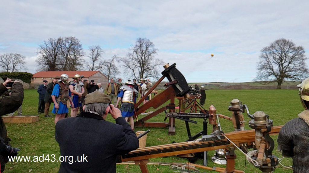 RMRS Firing the stone thrower