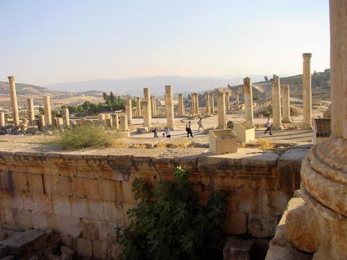 Jerash - Christian churches